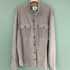 XXL Old Navy super soft fleece button down shirt